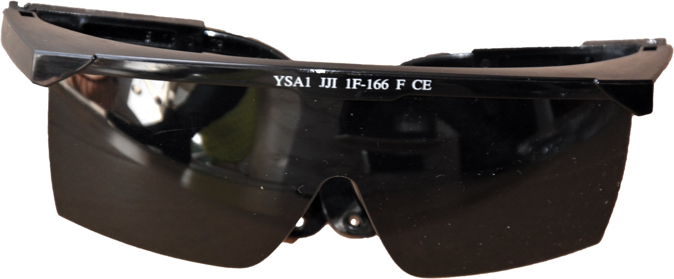 YSA 1 Čierne okuliare CE EN166