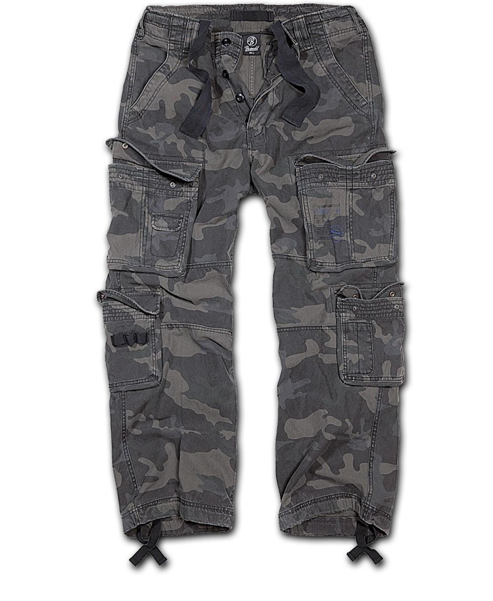 Nohavice BRANDIT Čistý Vintage darkcamo XXL