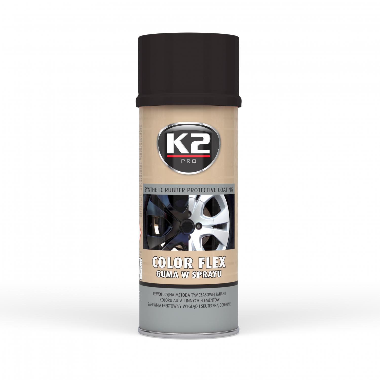 K2 Color Flex Guma W Sprayu 400 Ml Czarny Mat Bierun Allegro Pl