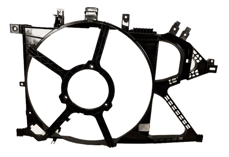 вентилятор корпус opel corsa c комбо 2000-2009