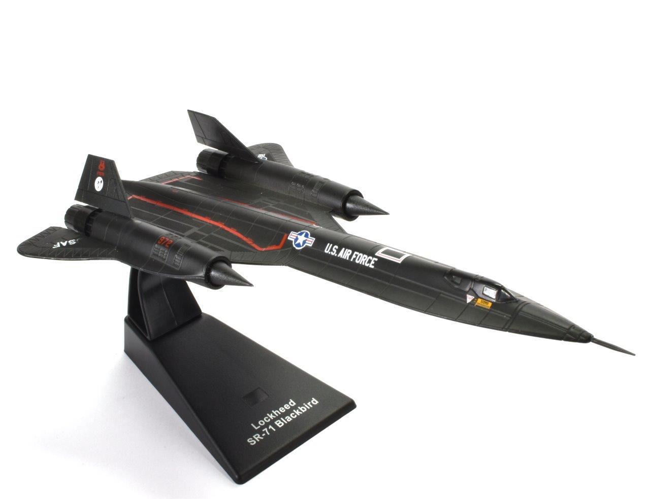 SR-71 BLACKBIRD 1:144 -Эра Самолетов - АТЛАС доставка товаров из Польши и Allegro на русском
