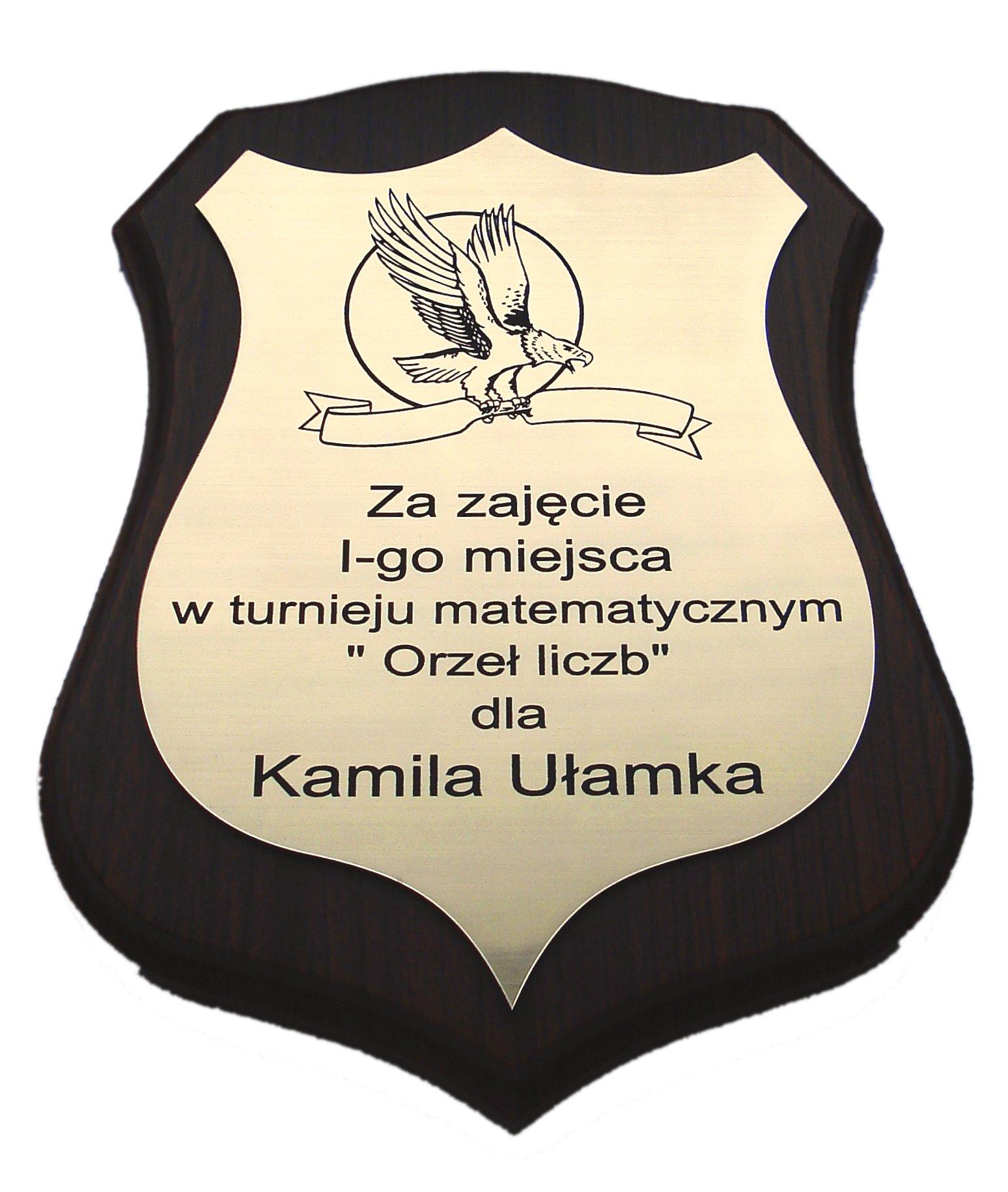 Tabliczka Tablica Gratulacje Podziekowanie Grawer 7204600964