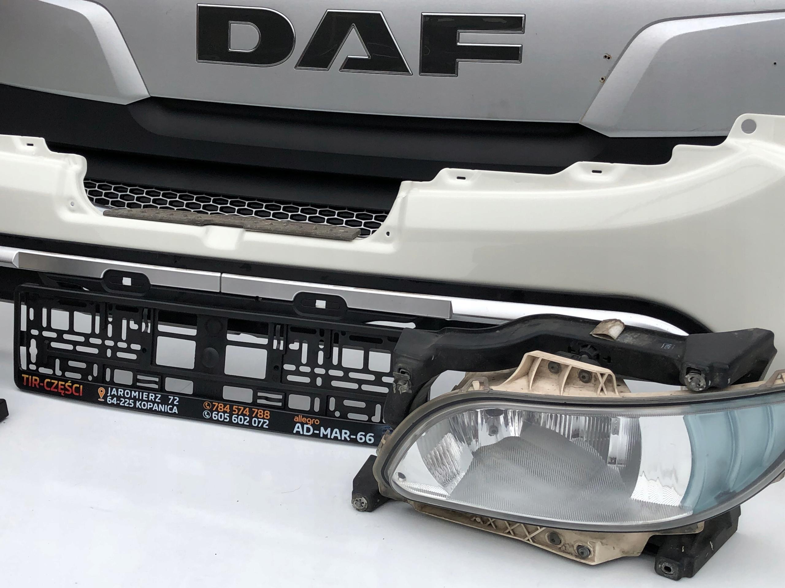 DAF XF 106 EURO6 LIFT ATRAPA GRILL OWIEWKA OKULAR 13