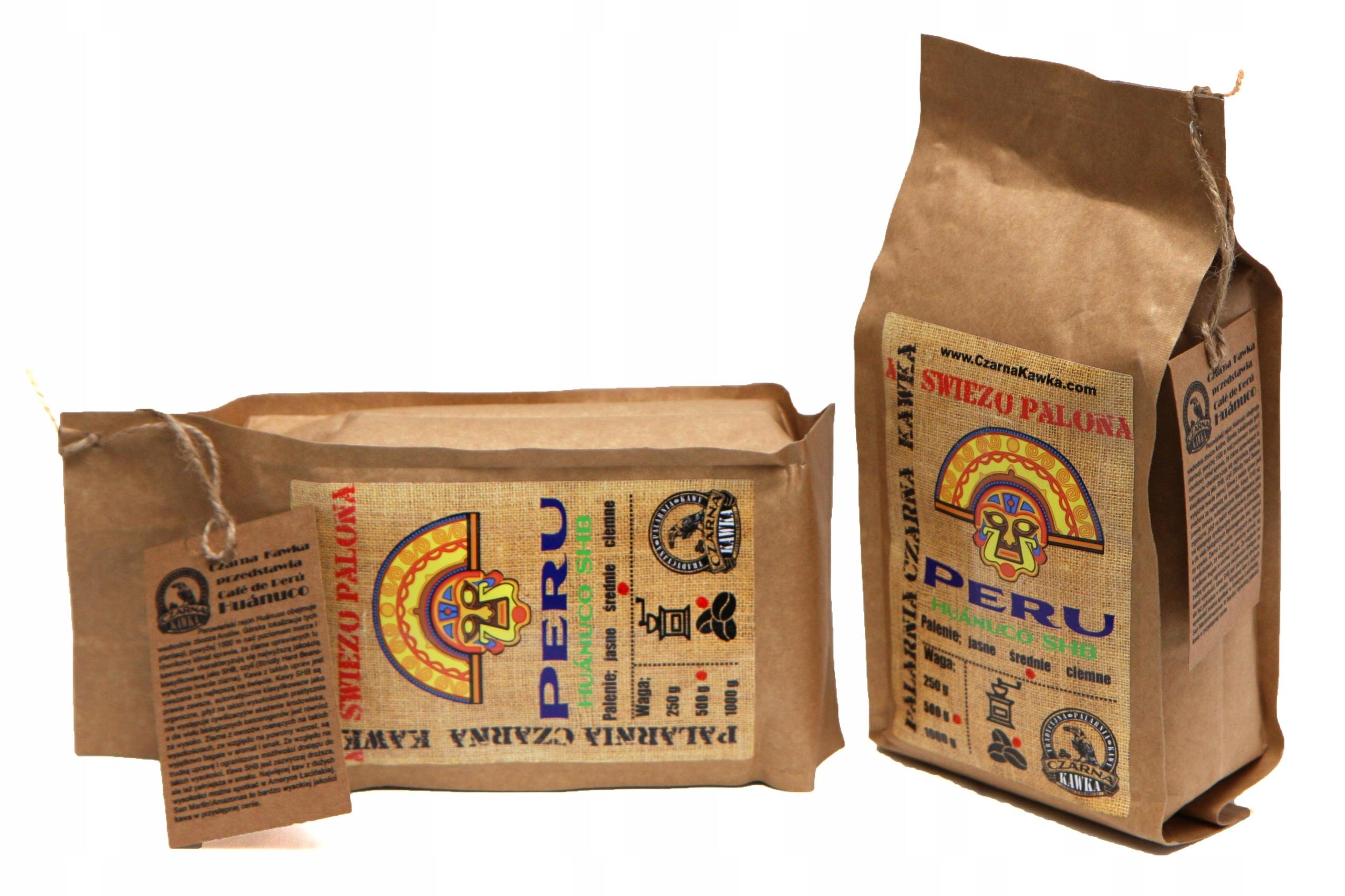 Item Kawa świeżo palona PERU Huanuco SHB 1 kg PROMOCJA