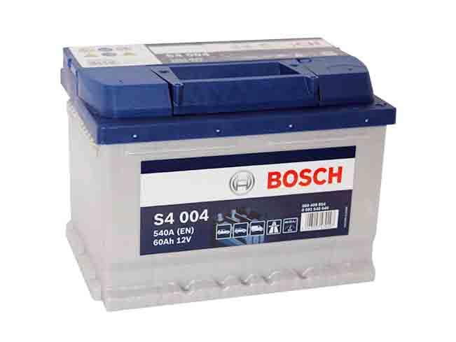 аккумулятор bosch s4 60 ах 540a 60ah s4004