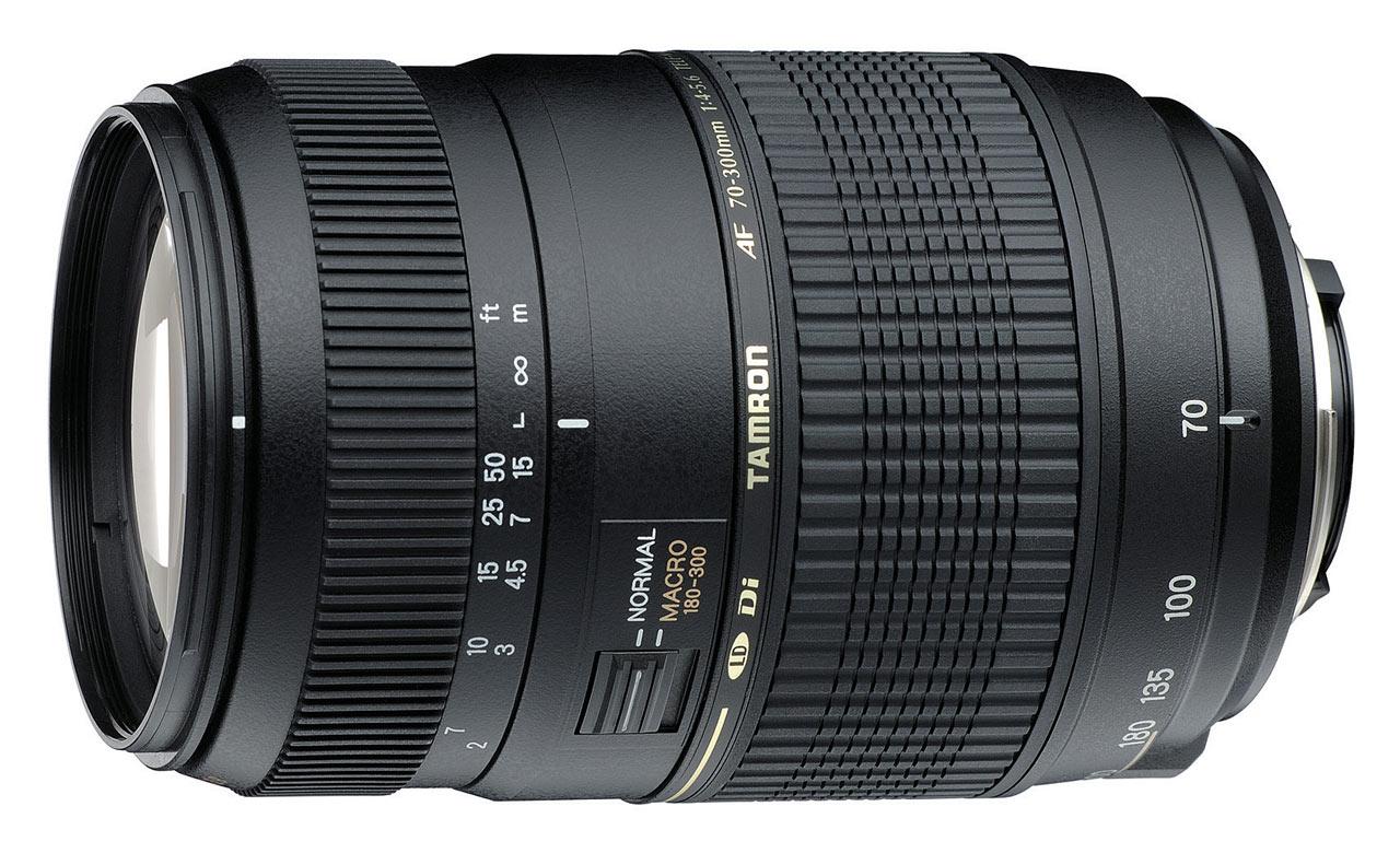 Item Tamron 70-300 F/4-5,6 AF Nikon + CPL Filter