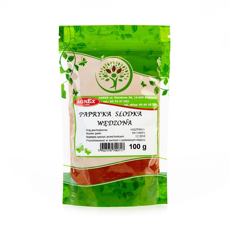 Item SMOKED PAPRIKA SWEET 100g a great flavor AGNEX