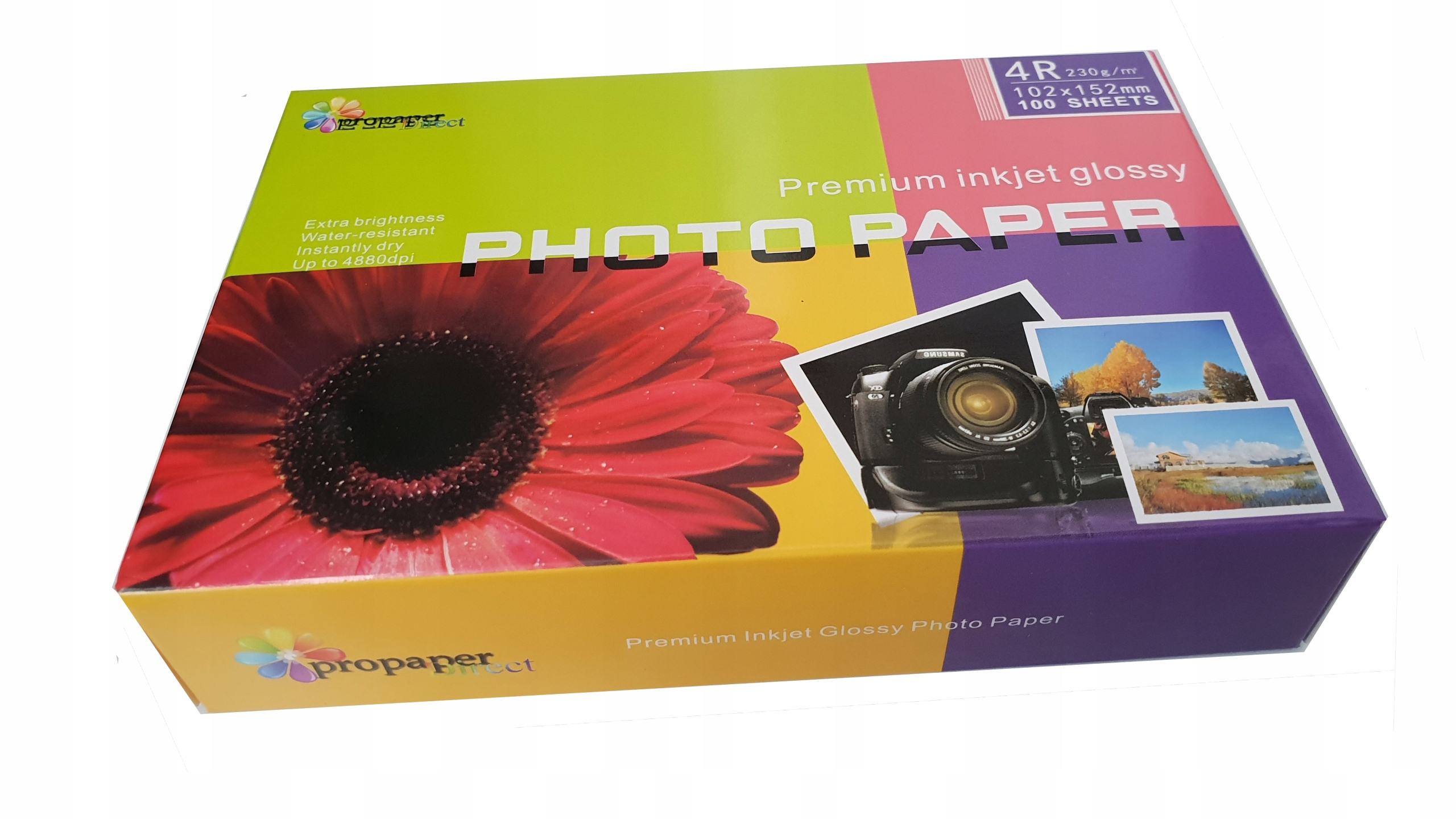 Item GLOSSY photo PAPER 10x15 230 g/m2 100