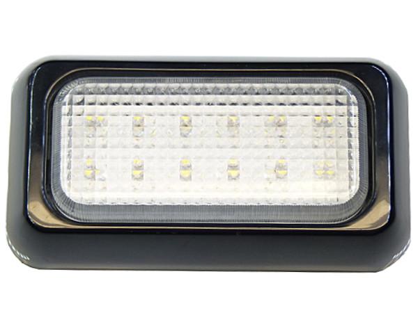 лампа 12 led s 10x6 см заднего вида заднего хода 12v 24v rs