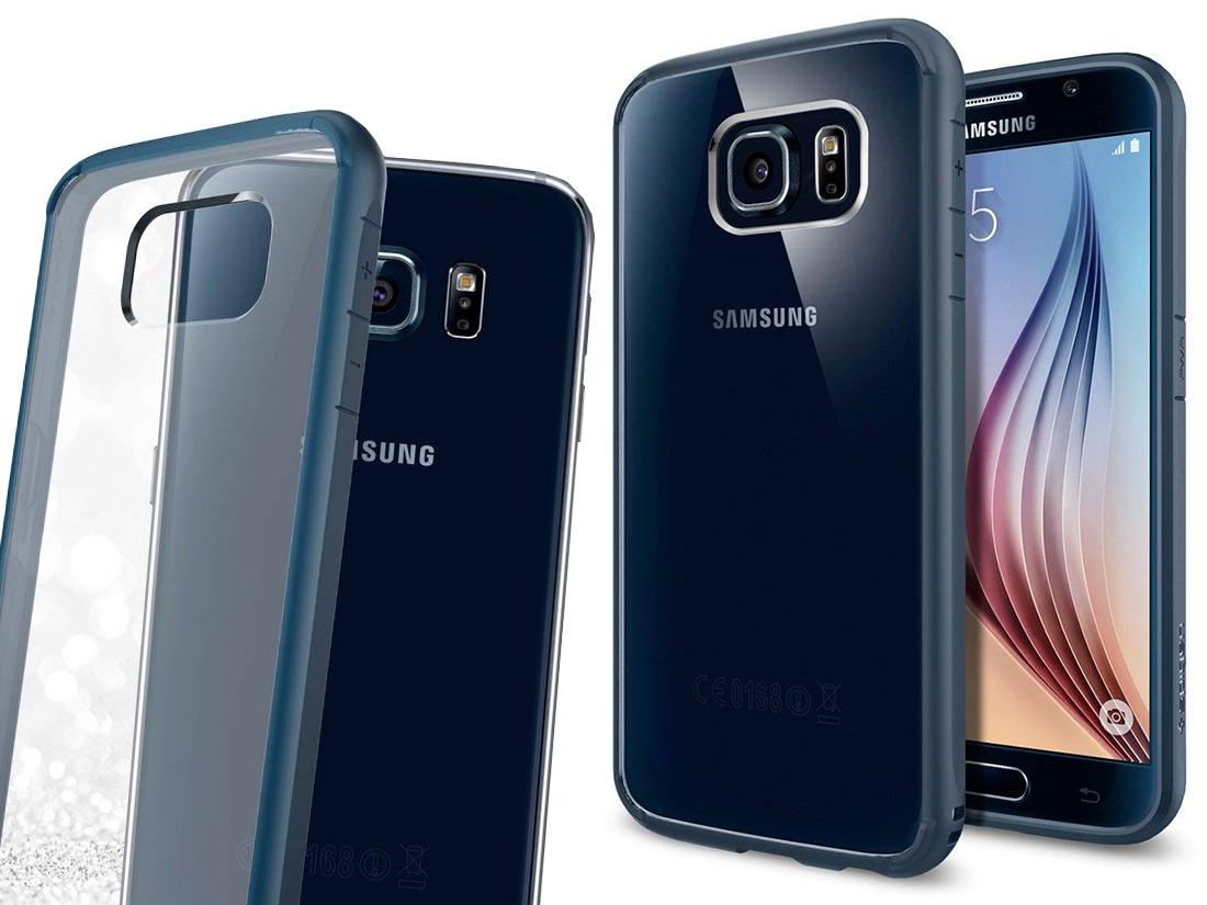 Spigen Ultra Hybrid Etui Case Obudowa - Galaxy S6