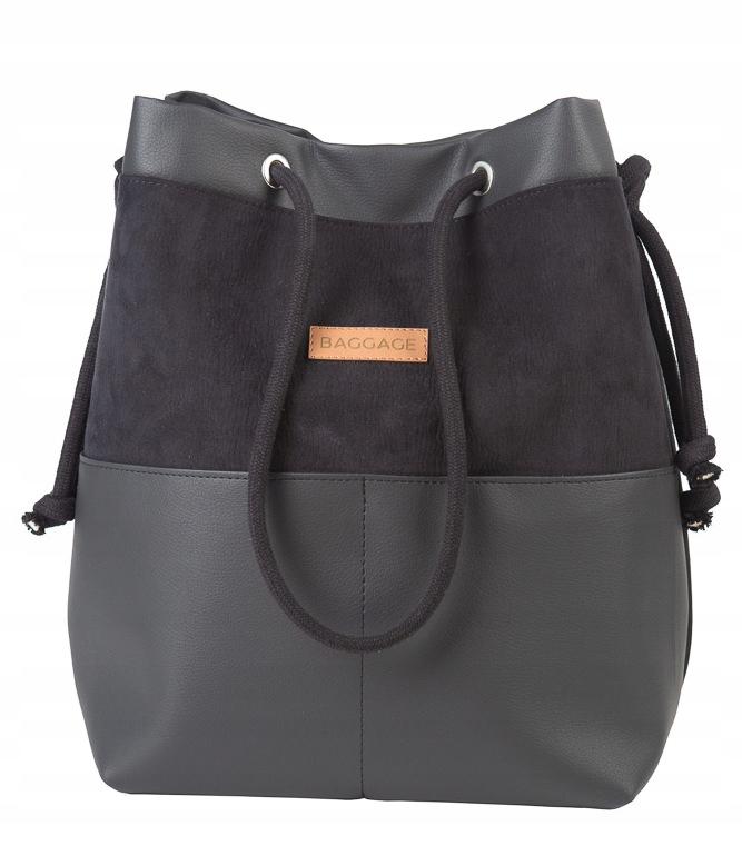 BAGGAGE SHOVER BAGGAGE SHOPPER BLACK BROWN BAG