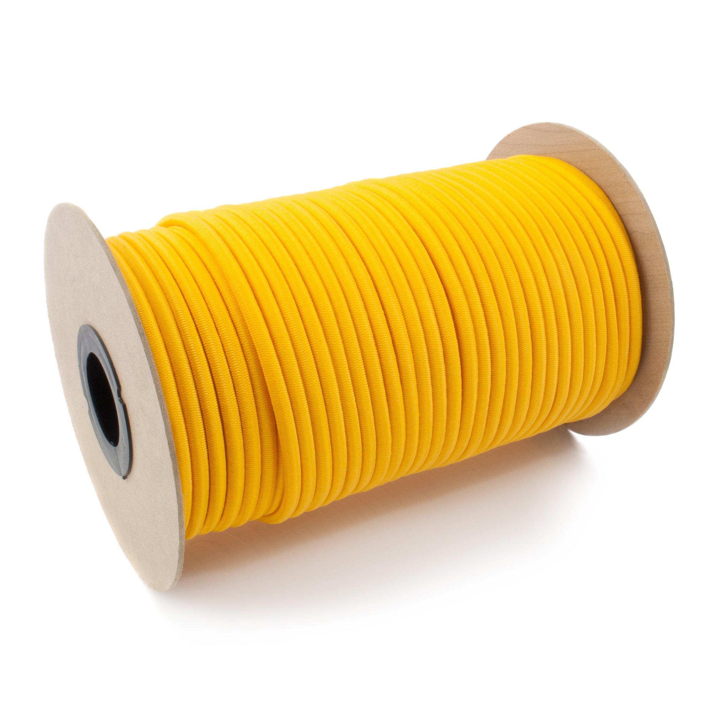 Lano elastické Žltá ekspandor 5mm 100m