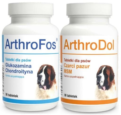 ДОЛЬФОС ARTHROFOS + ARTHRODOL ПОСЛЕ 90tab НА СУСТАВЫ СОБАКИ