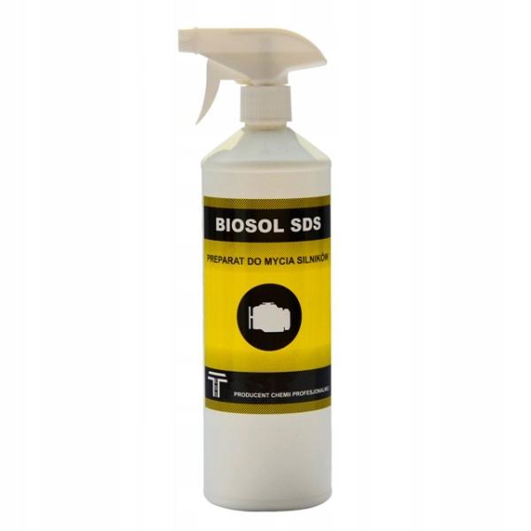 Čistenie motorového motora Kvapalina Silné Biosol SDS 1L