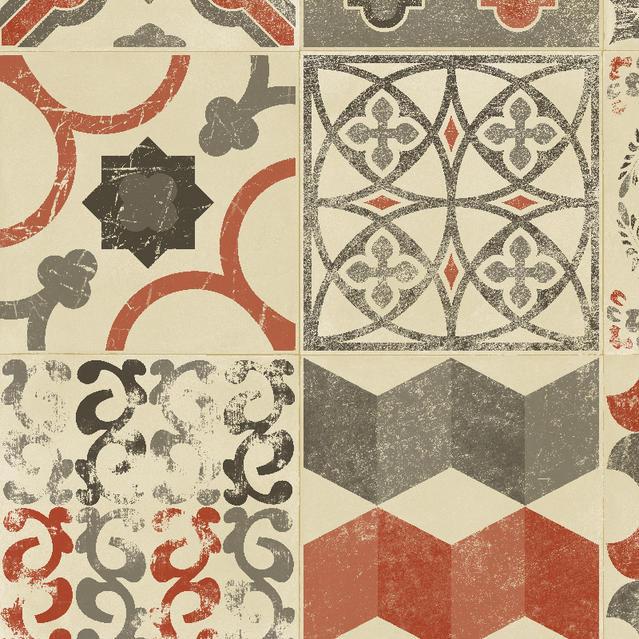 Koberec, PVC TARKETT|Almeria|červený kameň retro
