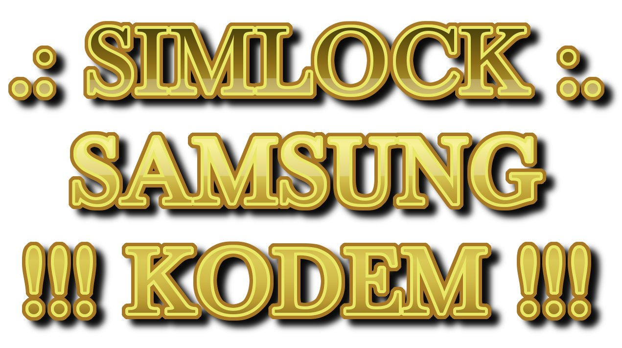 Item SAMSUNG SIMLOCK ORANGE PL EACH MODEL CODE