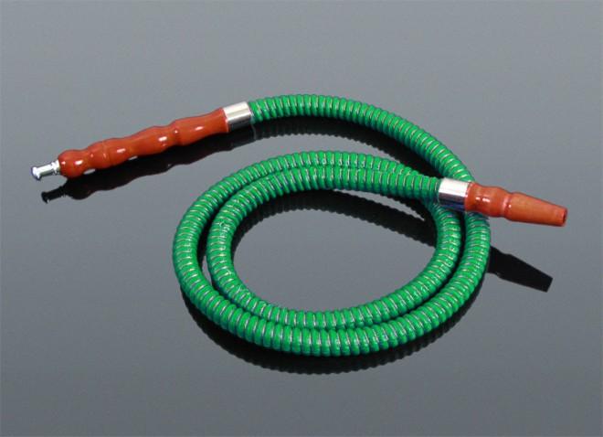Шиша Кальян Шланг маленький зеленый 120см 1-5054