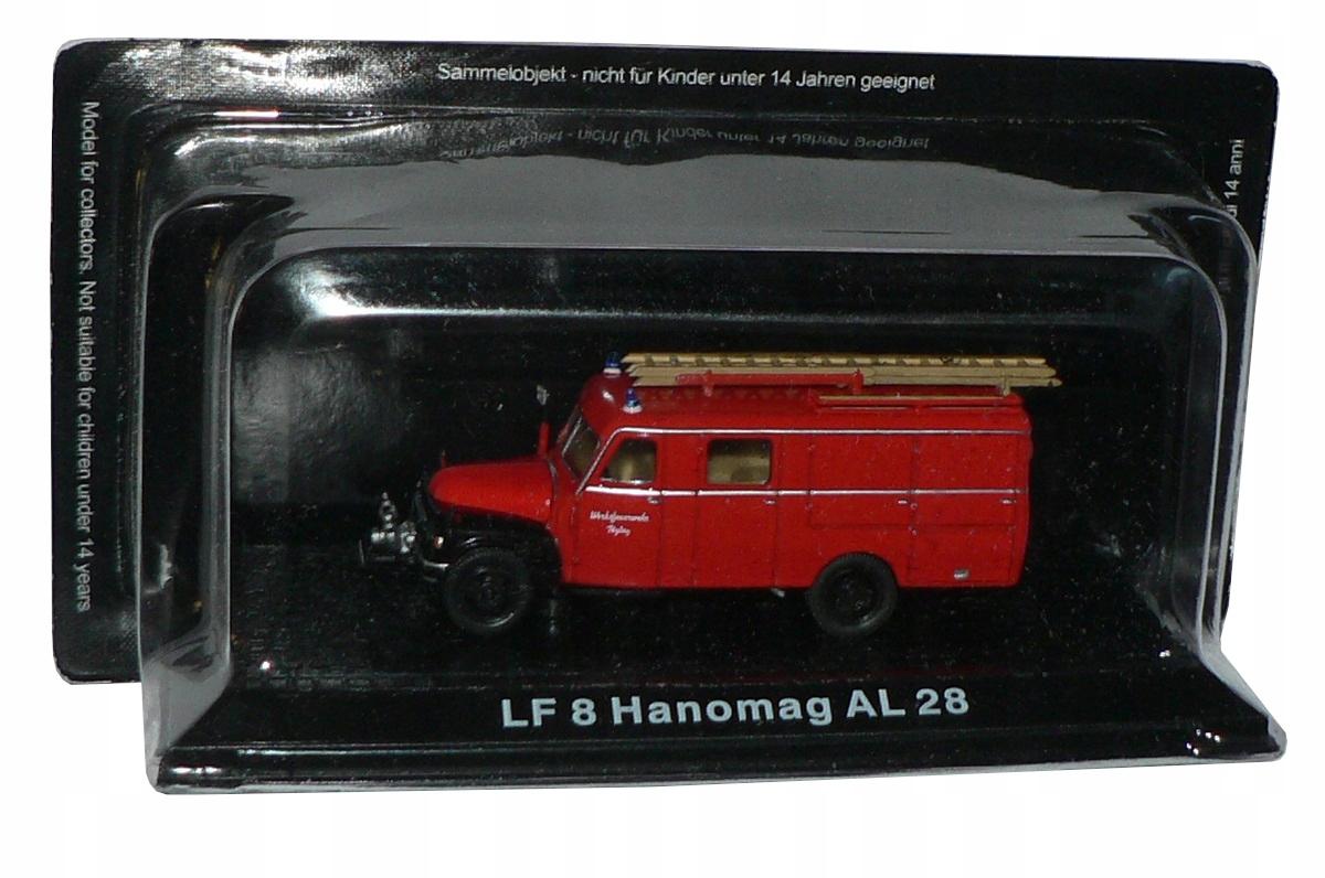 Hasičské vozidlo 1:72 LF 8 HANOMAG AL 28
