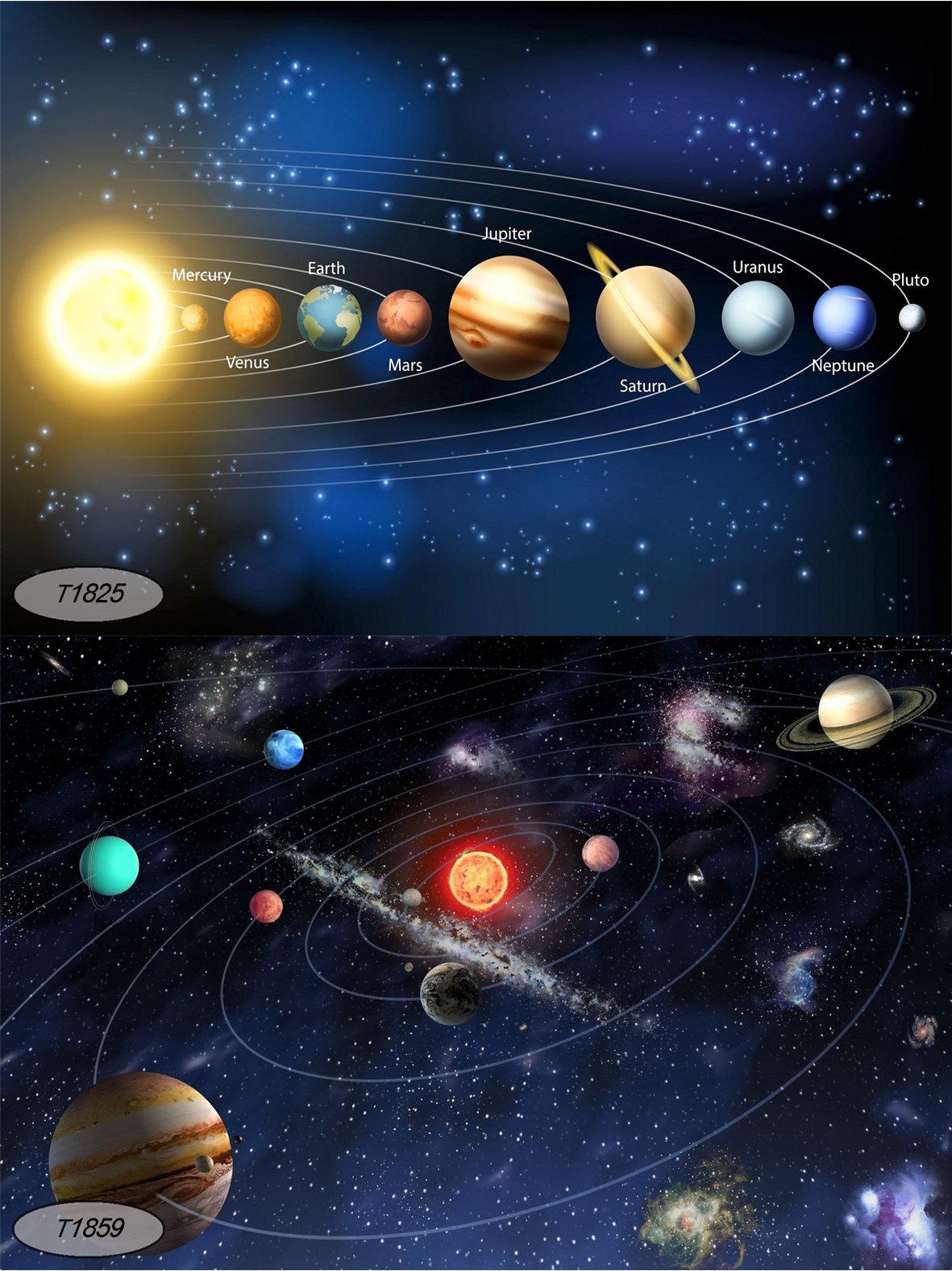 карта всех планет картинки