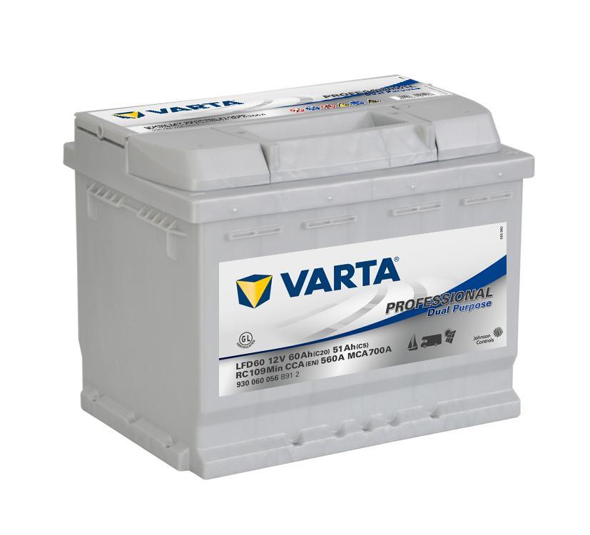 Купить Akumulator 60AH/560A P+ VARTA LFD60 EFB kamper на Otpravka - цены и фото - доставка из Польши и стран Европы в Украину.