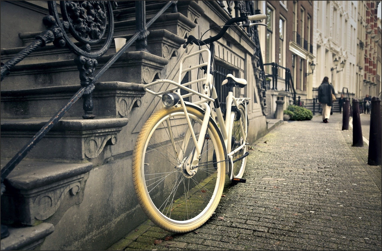 Steny otlačkom, bicykel, klasické, retro štýl, HEATH