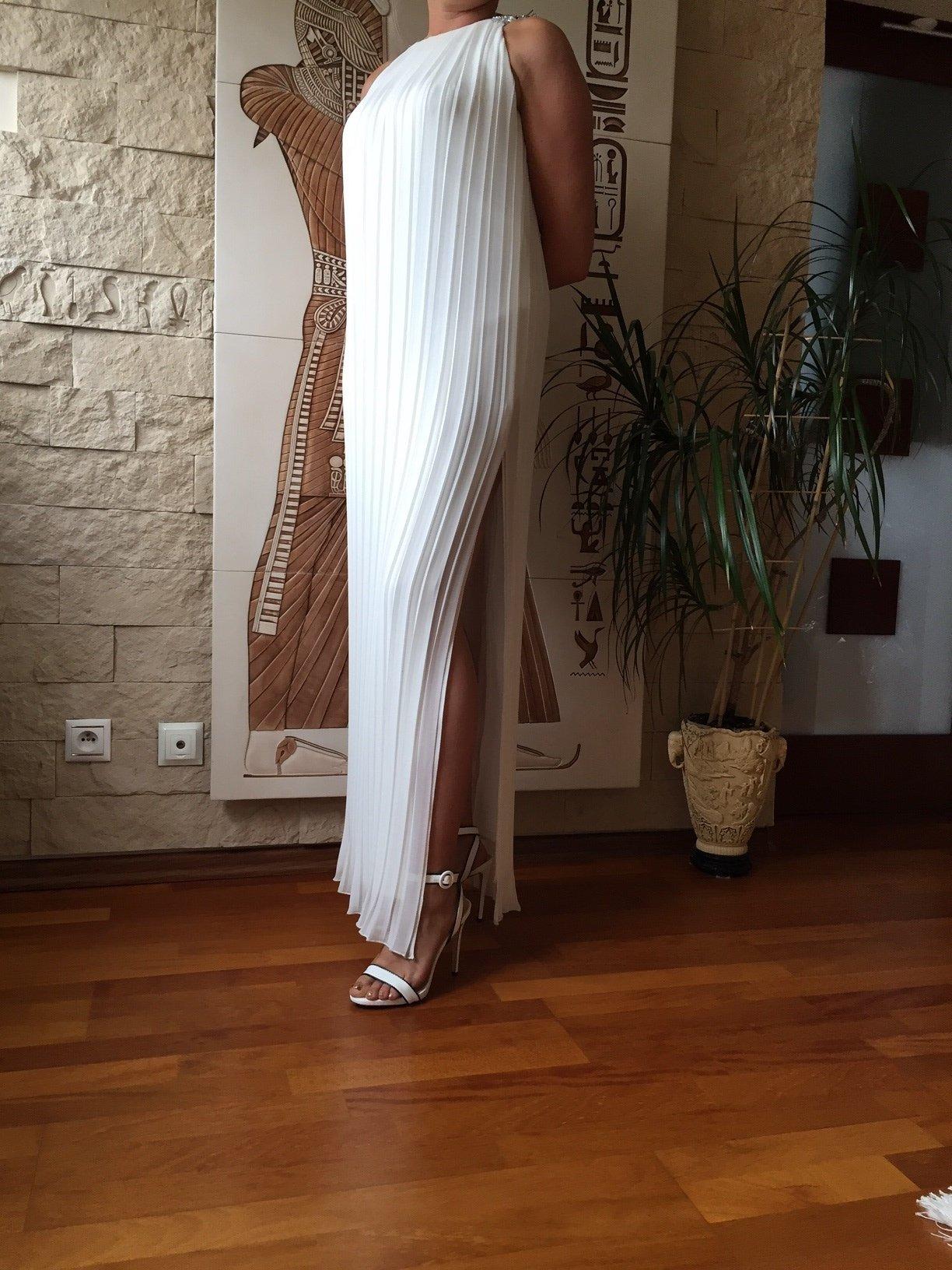 sukienka w stylu rzymskim ślub cywilny