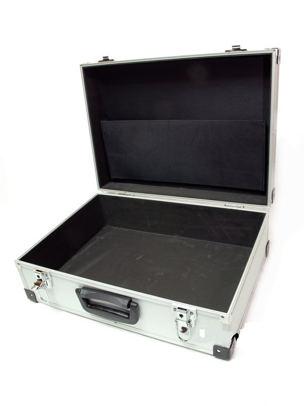 Item THE AVERAGE ALUMINUM SUITCASE CASE BOX DJ EQUIPMENT