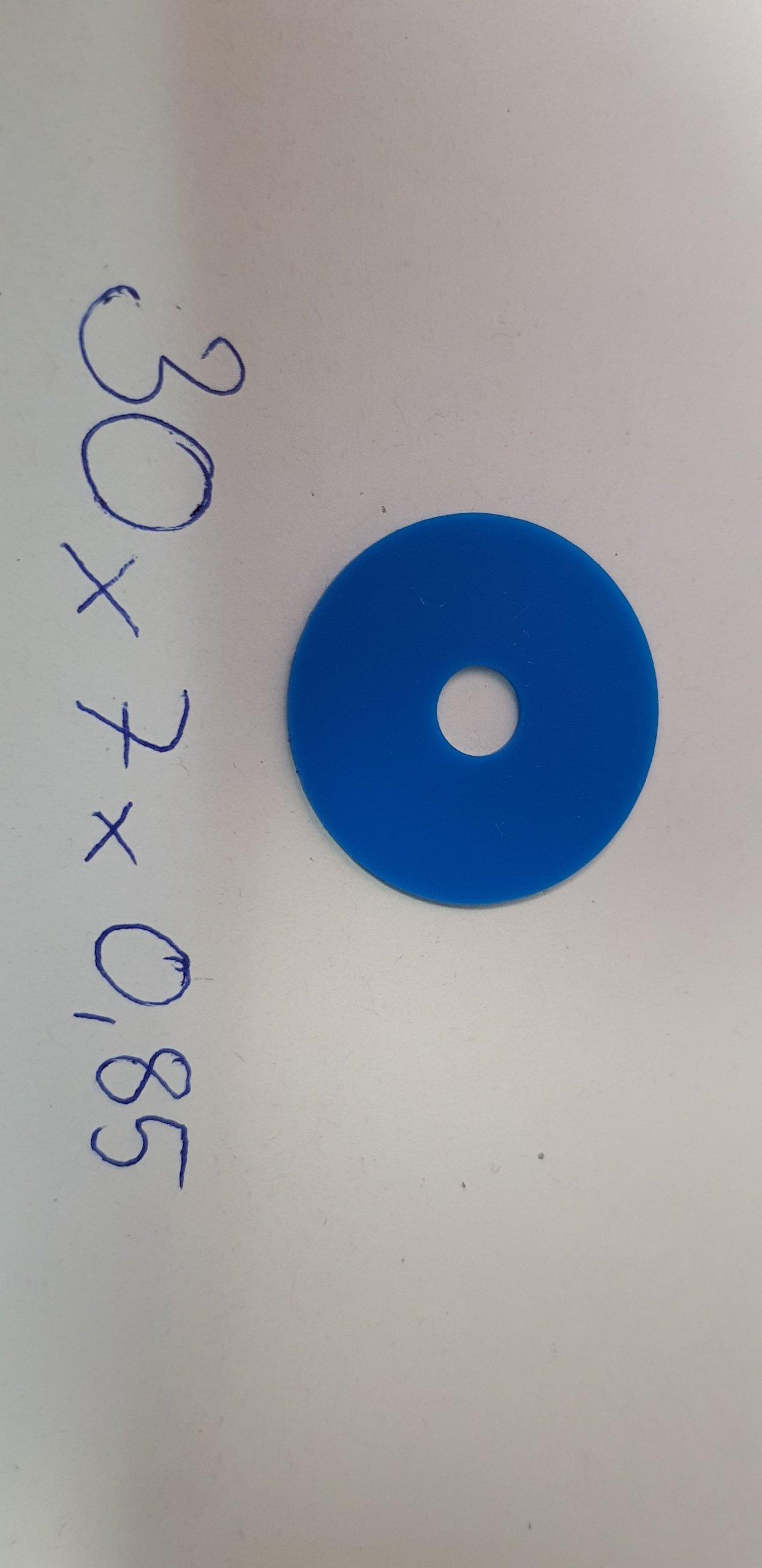 Gumové sacie stroje pre polygrafické stroje 30x7x0,85