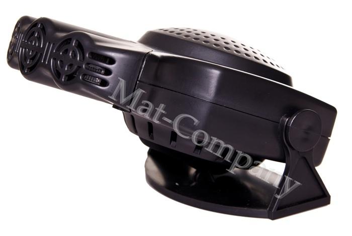 Обогреватель автомобильный вентилятор нагреватель 12в 160вт (фото 5)   Автозапчасти из Польши