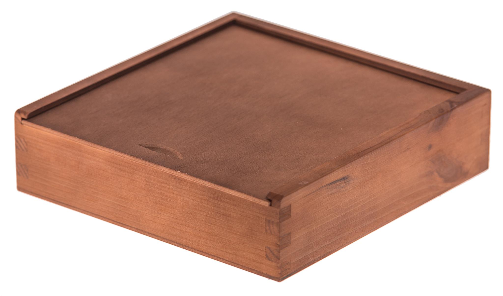 Купить КОРОБКА деревянная для ФОТОГРАФИЙ и ФЛЕШКИ орех ЭКО на Otpravka - цены и фото - доставка из Польши и стран Европы в Украину.