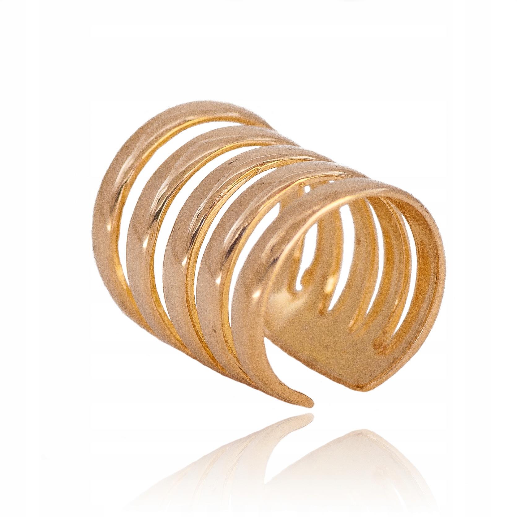 Zlaté náušnice nausznica nausznice gold 585