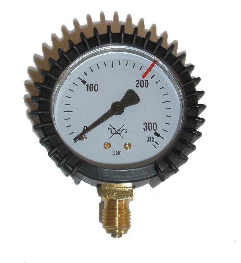 Regulátor Hodiny Argón CO2 0-315 bar 12x1,5