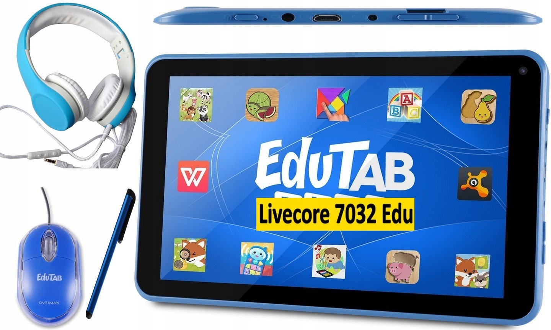 Tablet Deti OverMax Edutab Play MP4 konzoly FVAT