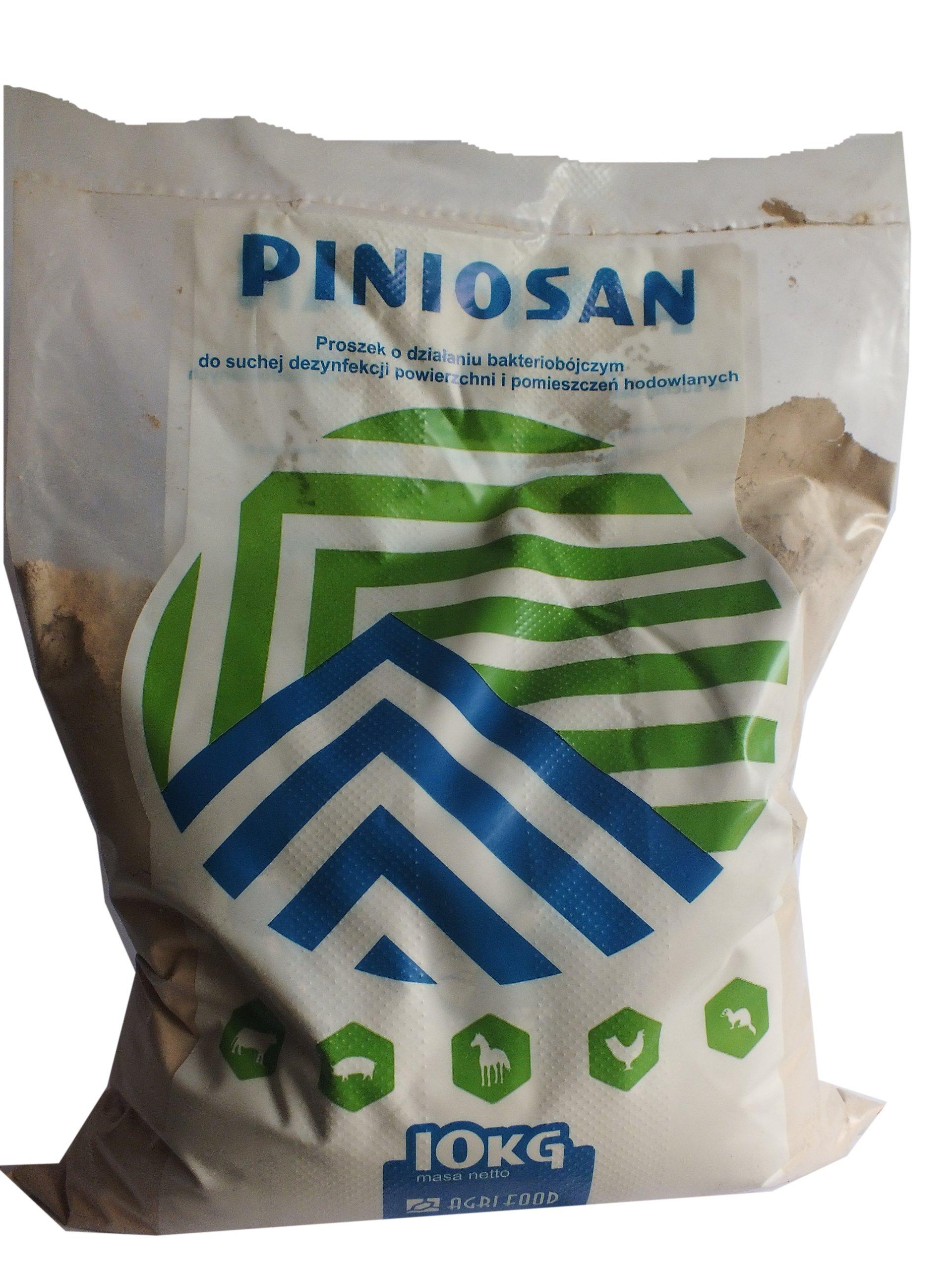 PINIOSAN dezynfekcja -bakterie wirusy larwy 10kg