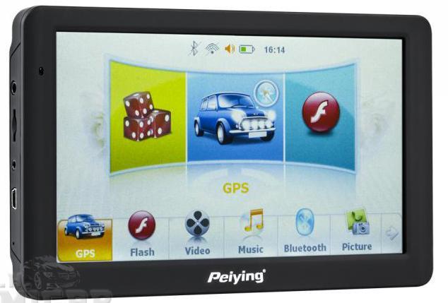 GPS навигация Peiying PY-GPS 7 дюймов с картой ЕС NOWA