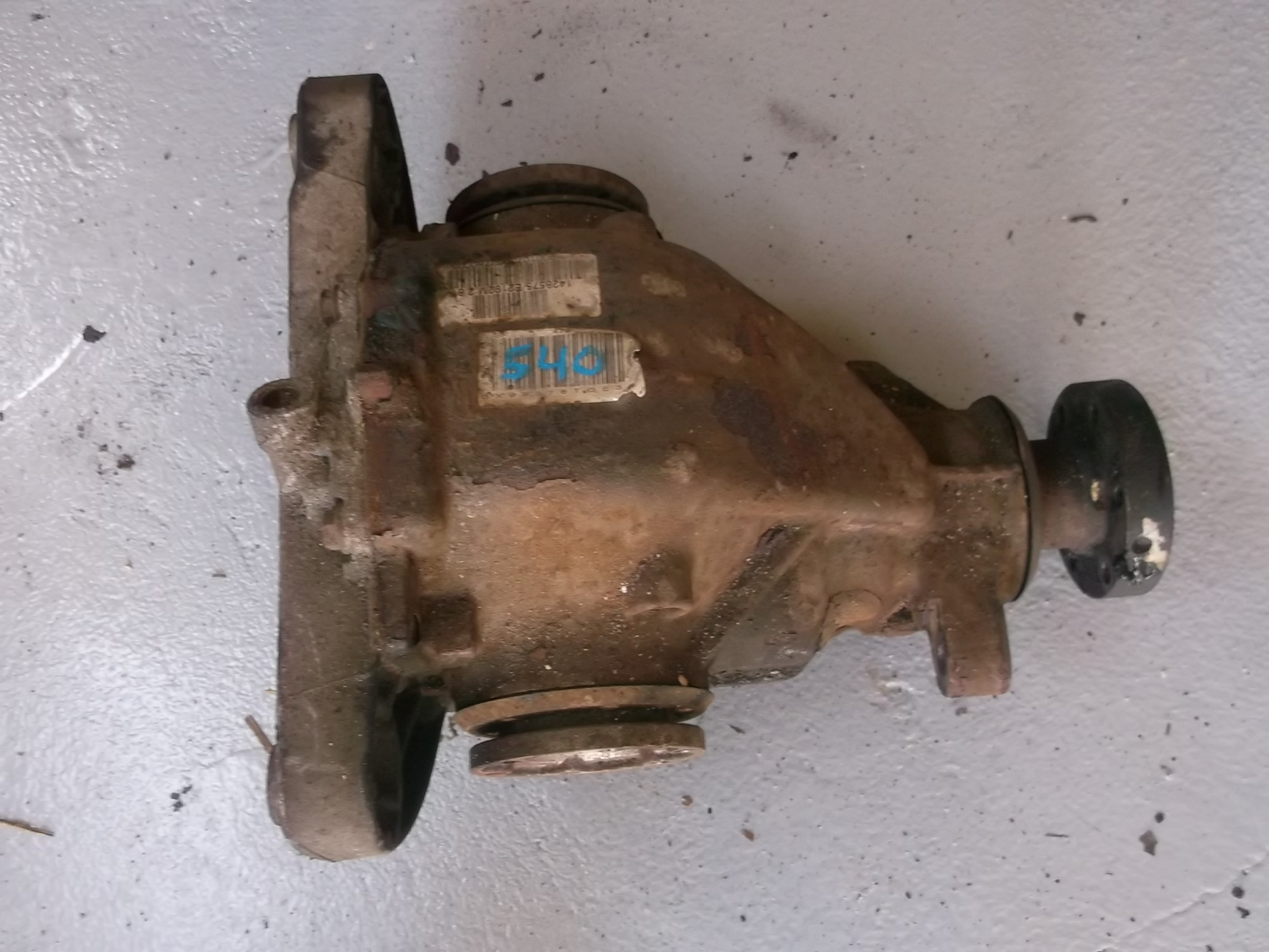 Bmw E39 540i Rear Axle Differential 2 81 Xdalys Lt