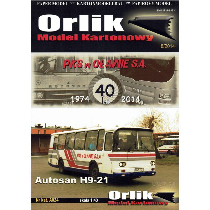 ORLIK A024 - AUTOSAN BUP H9-21 1:43