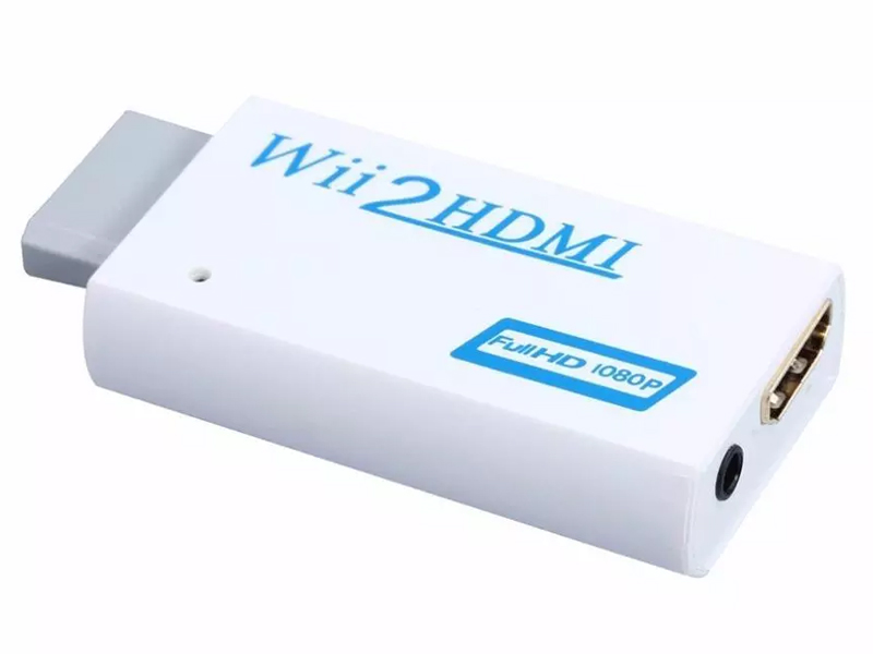 Item Adapter for Wii to HDMI 1080p Converter