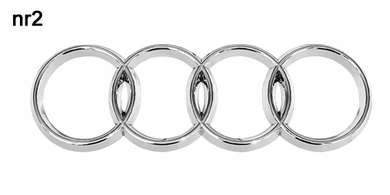 ЗНАК логотип эмблема audi A3 A4 A6 A8 80100 No. 2