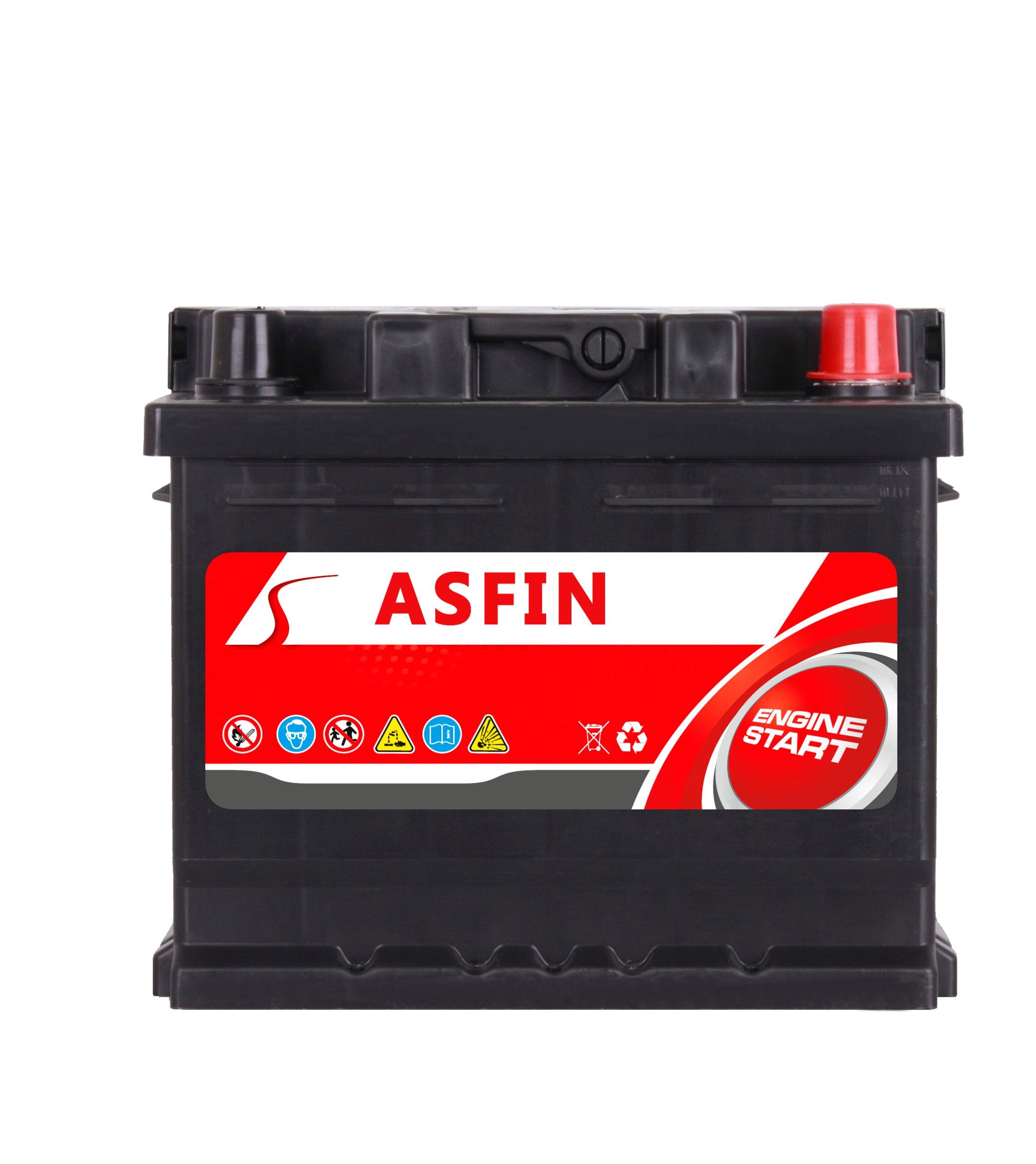 аккумулятор asfin 12v 44ah 380a en возможность