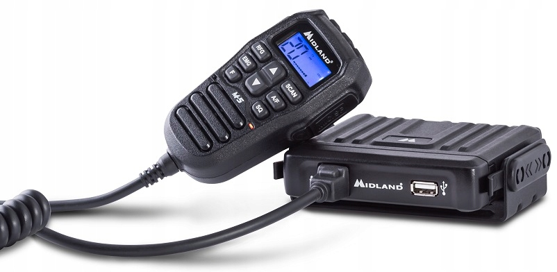 Item HANDHELD CB RADIO MIDLAND M-5 RADIO with USB SUPERCHARGER