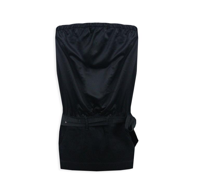 Mango Nowa Sukienka Mini Mała Czarna Tuba L