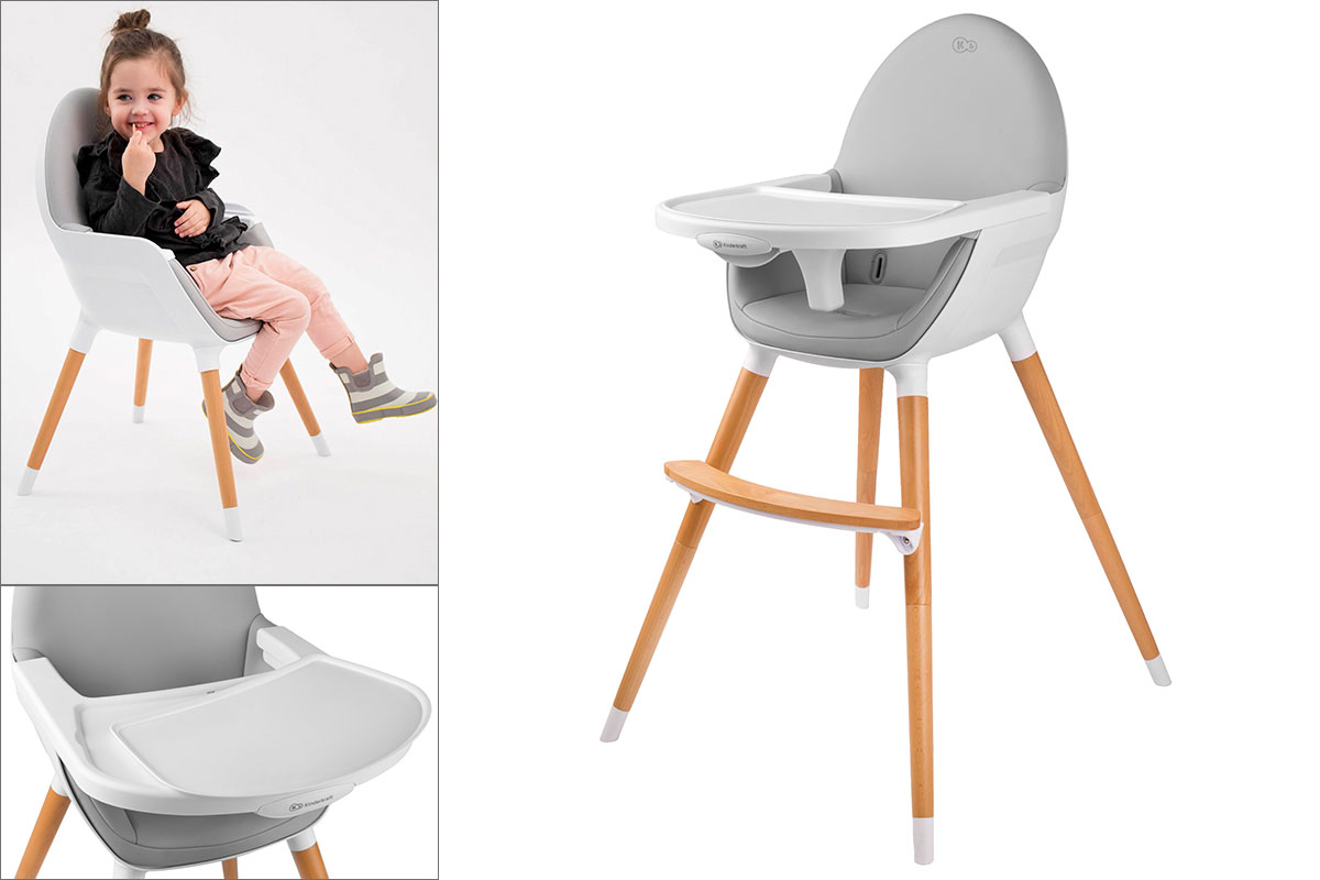 Кресло-качалка Детский стульчик Kinderkraft.Глубина изделия 58 см.