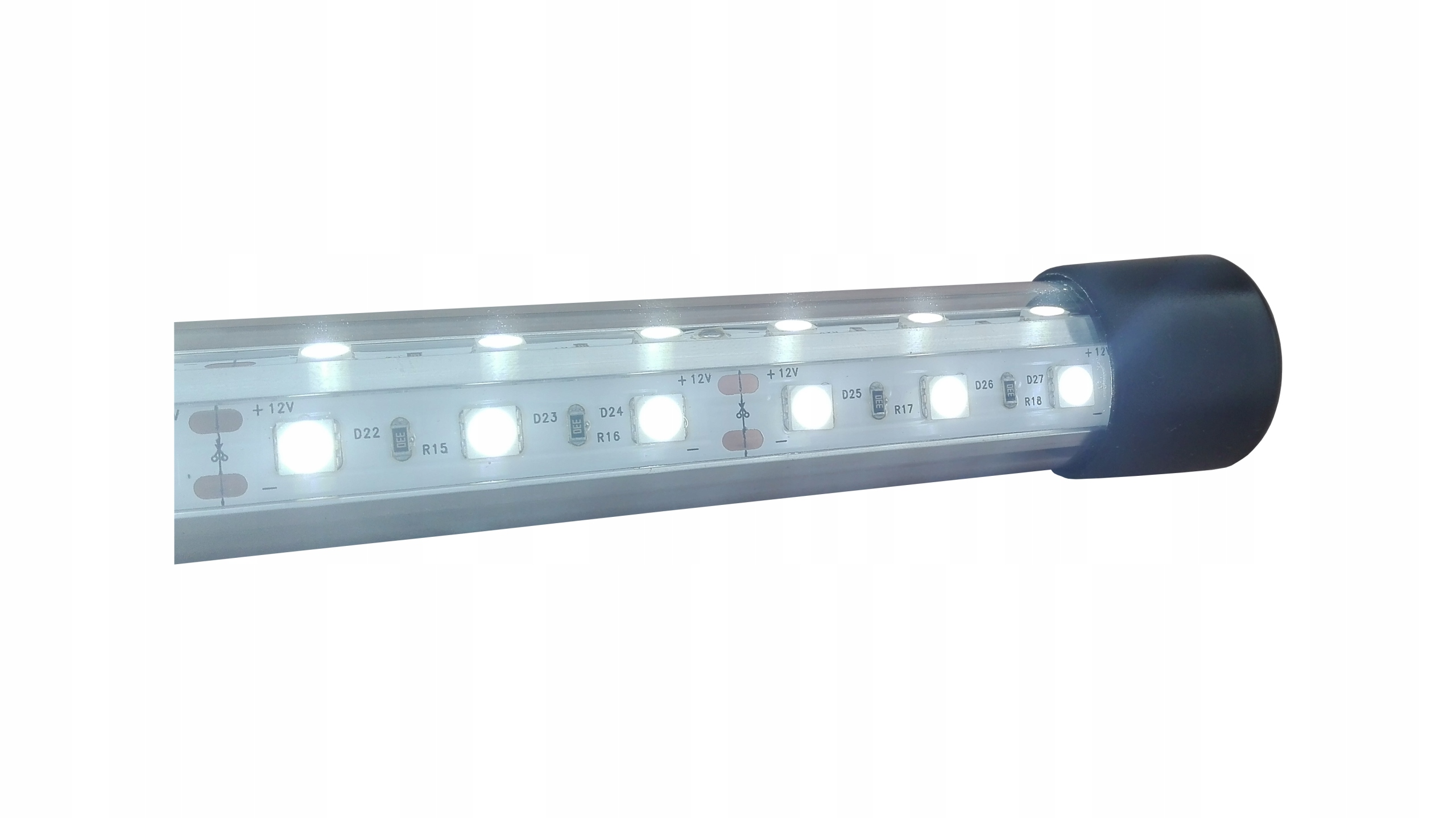 Lampa SKLO LED BIELA 24W akvárium 100 cm