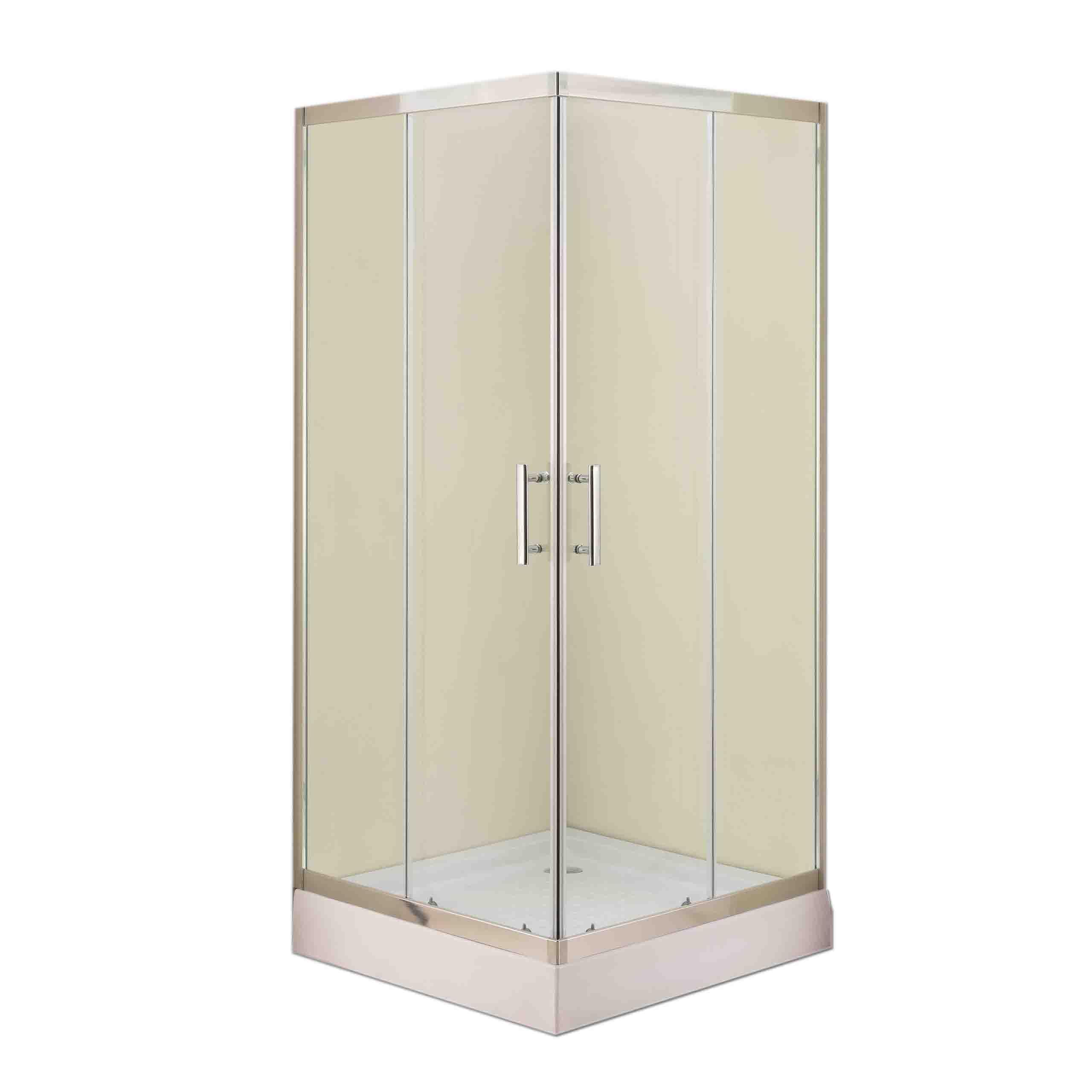 ~ Farebný sprchovací kút 80x80 + pádlovanie!