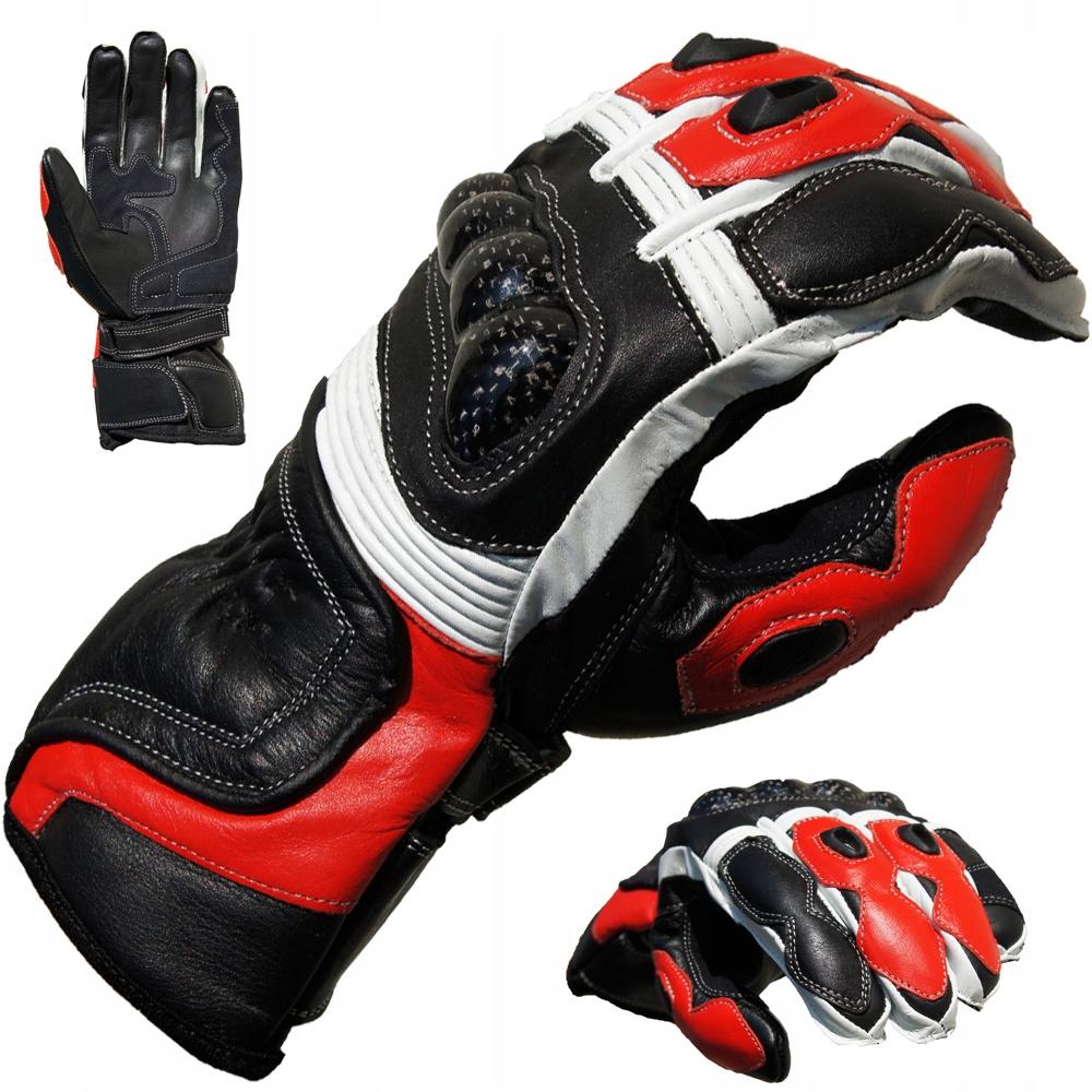 Перчатки мотоциклетные кожаные PROANTI CS цвета