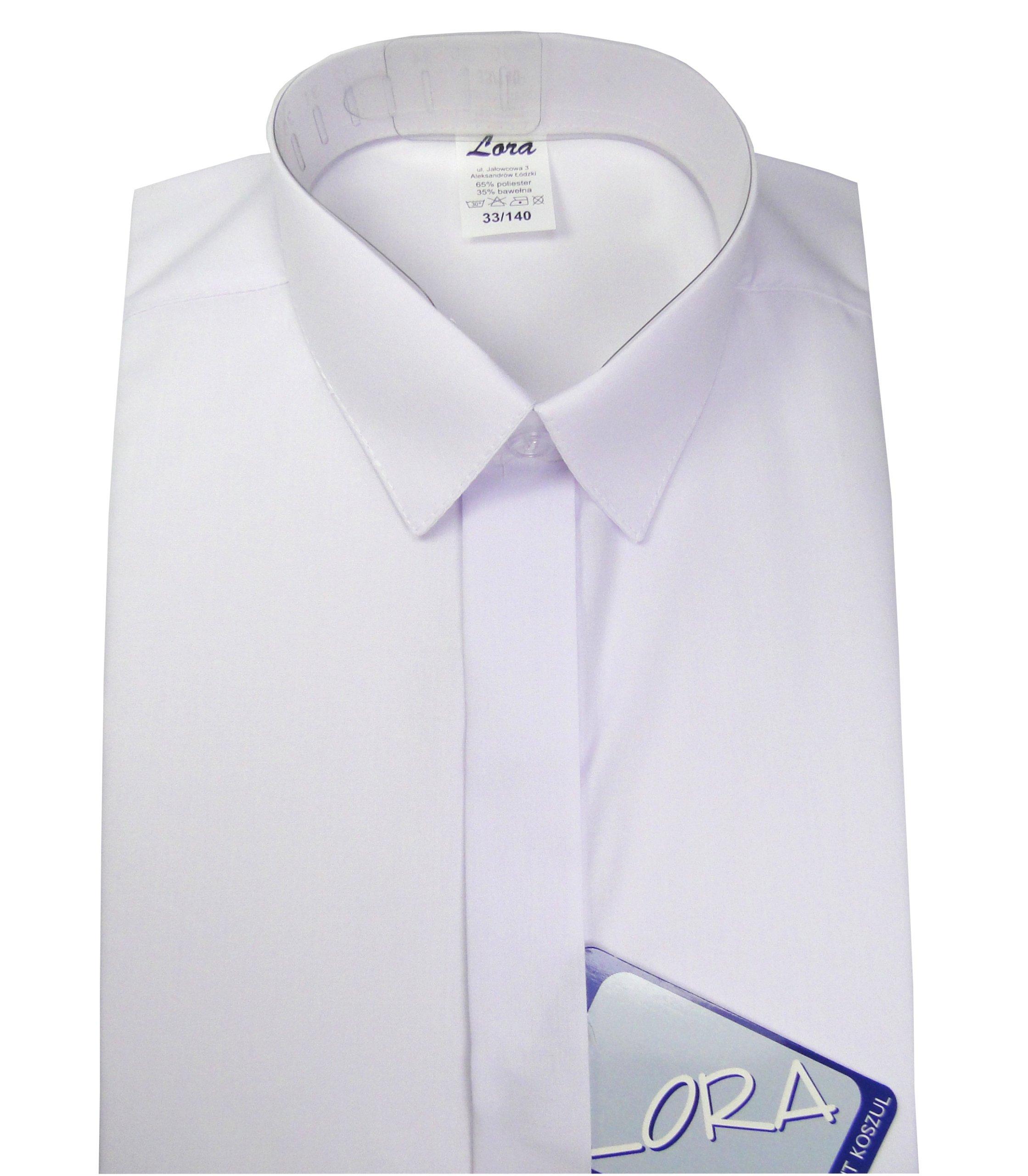 Koszula chłopięca wizytowa biała długi rękaw 146 7051824322