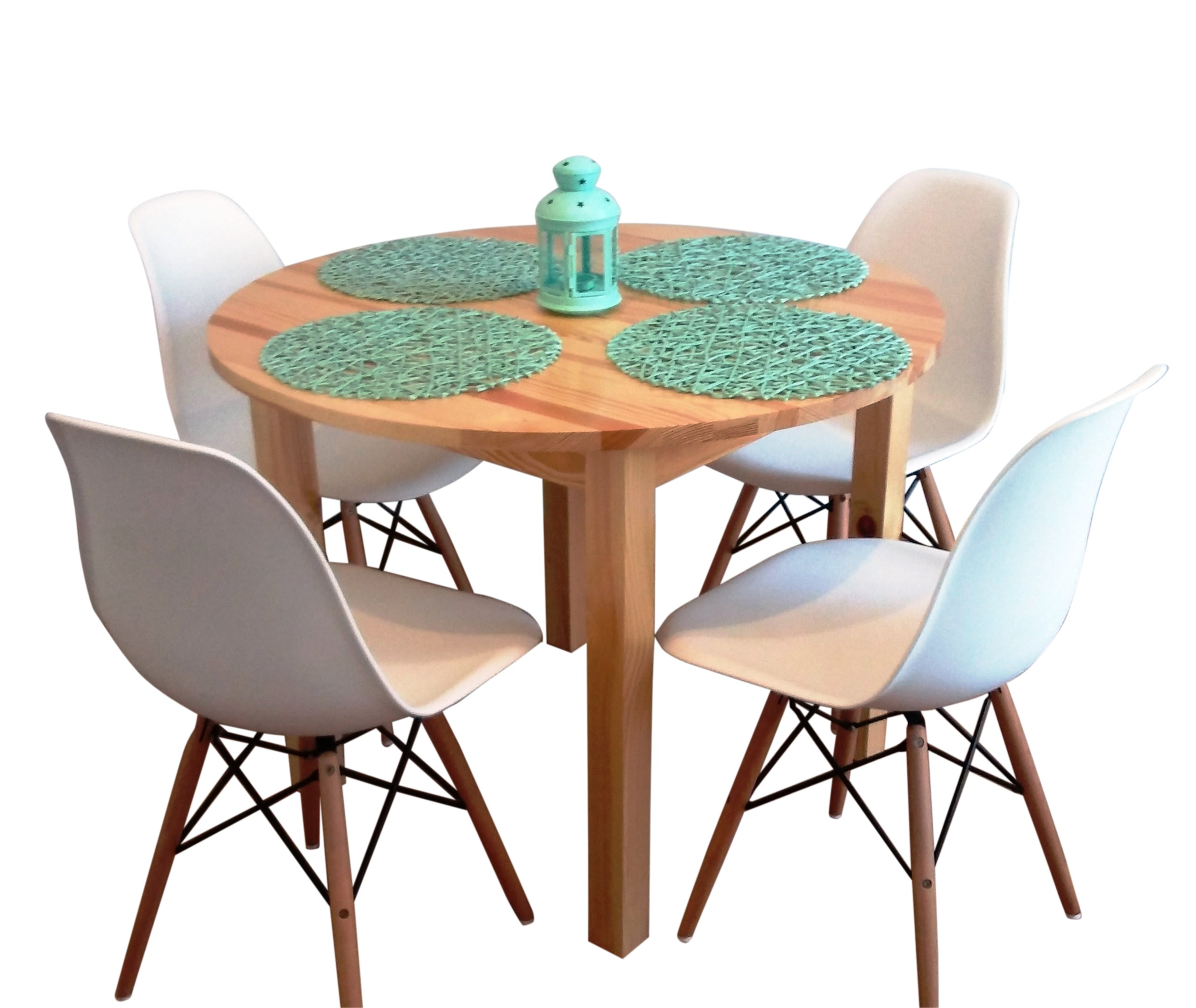 Pevný okrúhly stôl dia. 70 cm konferenčný stolík FARBY ZADARMO