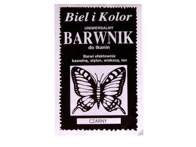 BARWNIK BARWNIKI DO TKANIN UBRAŃ 31 kolorów