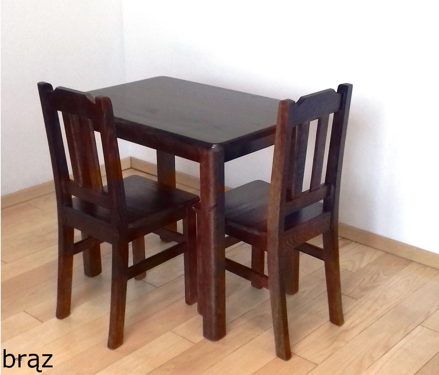 SOLIDNY stół 60x60 stolik kuchenny ława drewniana Marka Inny producent